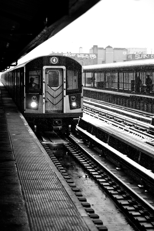 167th Street 4 Train, By Ron Douglas